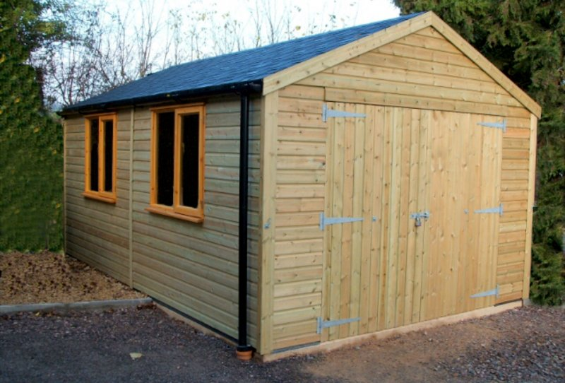 North east timber creations garden sheds north east for Quality garden sheds
