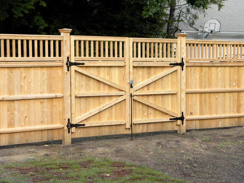 North East Timber Creations Timber Gates And Fencing