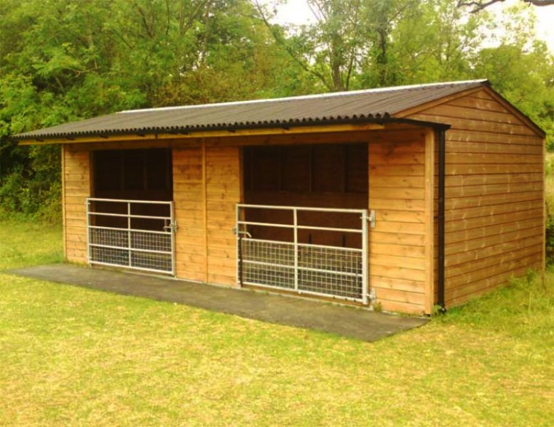 North East Timber Creations Stables And Field Shelters